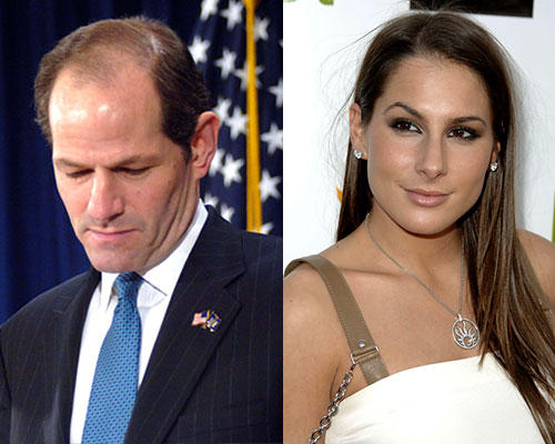 Eliot Spitzer und Ashley Dupré