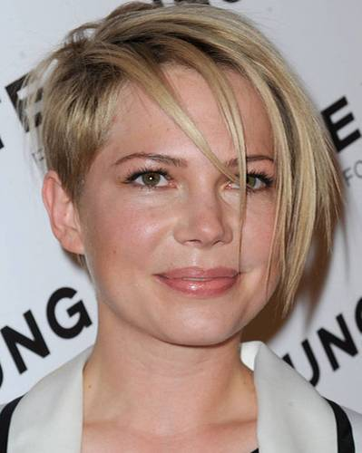 Undercut-Frisuren: Michelle Williams