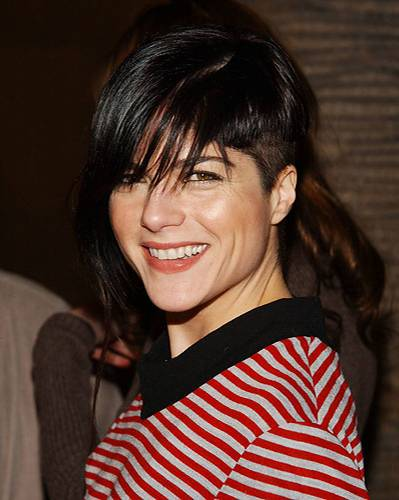 Undercut-Frisuren: Selma Blair