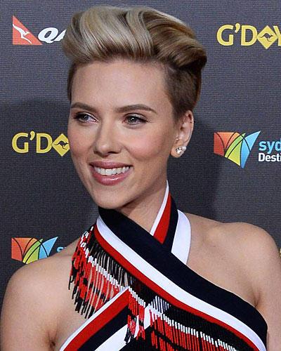 Undercut-Frisuren: Scarlett Johansson