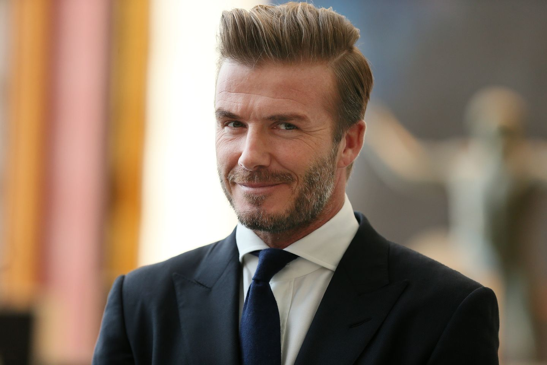 2015: David Beckham