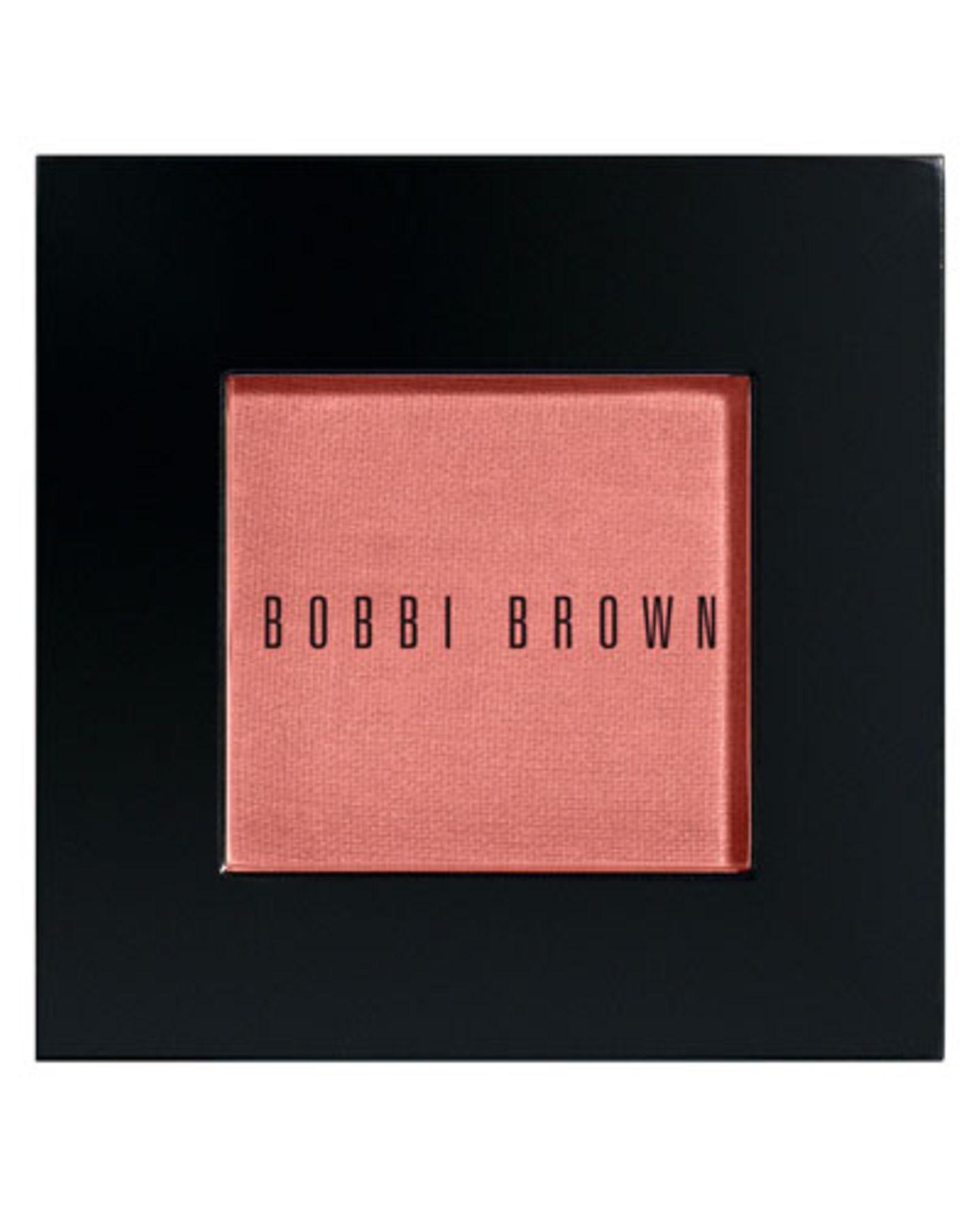"""Für Frische-Bäckchen: Rouge in einem dezenten Apricotton. Bobby Brown, Rouge, Farbton Nr. 28 """"Nude Beach"""", ca. 28 Euro, über douglas.de."""