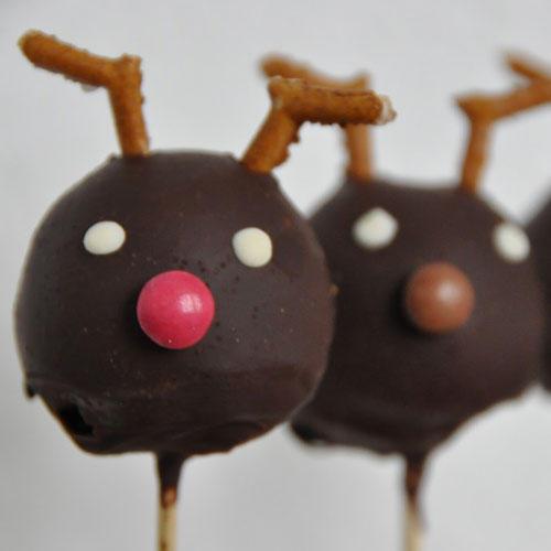 Rentier-Cakepops