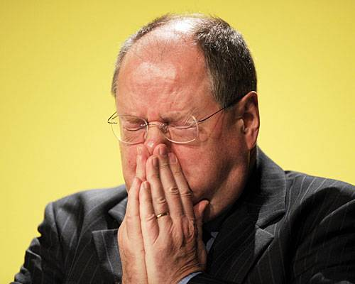"""SPD-Kanzlerkandidat: """"Das schöne Gefühl Geld zu haben, ist nicht so intensiv wie das saublöde Gefühl, kein Geld zu haben."""""""