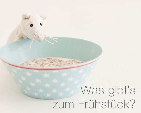 E-Cards: Diese niedliche Maus bringt auch den grummeligsten Morgenmuffel zum Schmunzeln. Möchten Sie diese E-Card verschicken?