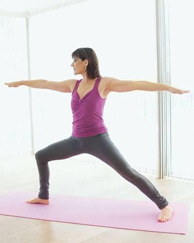 Übung 2: Medical Yoga für starke Knie