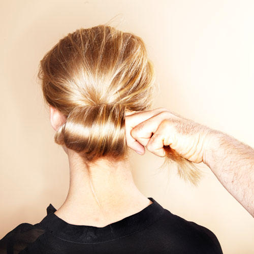 Wilder Chignon: Step 4