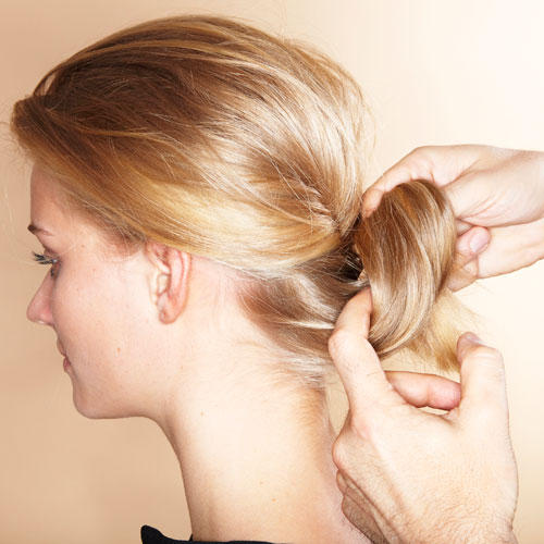 Wilder Chignon: Step 6