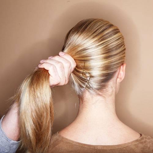 Haarstyling Lange Haare Hochstecken Kein Problem Brigitte De