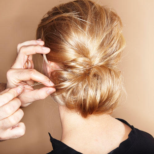 Wilder Chignon: Step 7