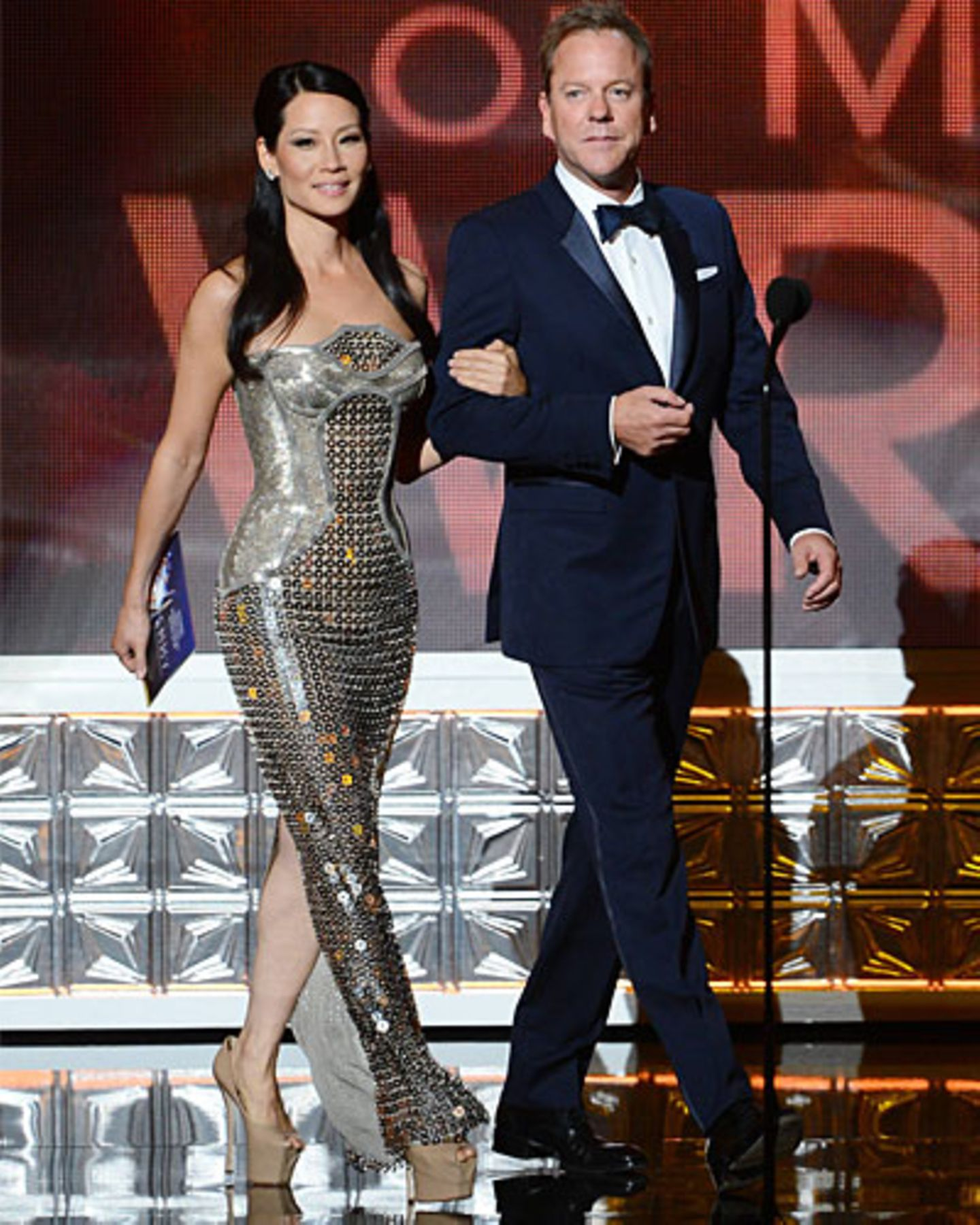 Lucy Liu & Kiefer Sutherland