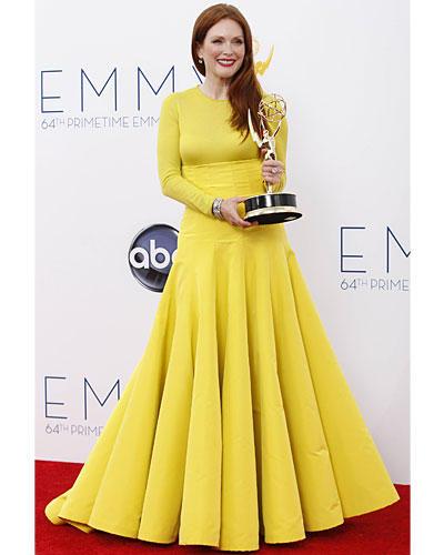 Platz 3: Julianne Moore bei der Emmy-Verleihung