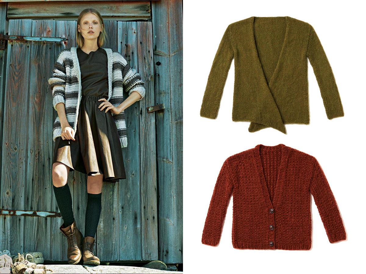 Mäntel und Jacken stricken - die besten Anleitungen