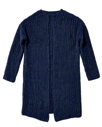 Leichter Mantel stricken
