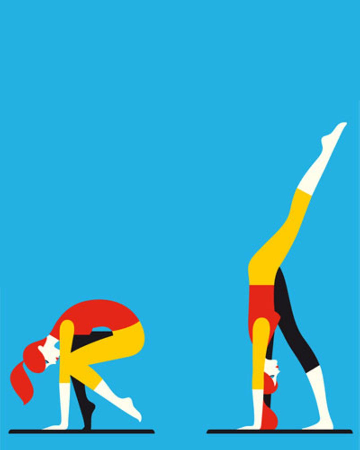 Übung 1: Standing split