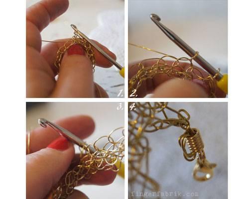 26. November: Ring und Armband häkeln - für Golden Girls | BRIGITTE.de