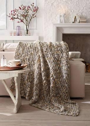 strickanleitungen zum kuscheln edle decken stricken. Black Bedroom Furniture Sets. Home Design Ideas