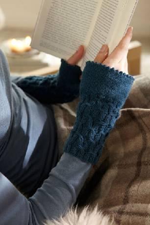Strickanleitungen: Pulswärmer stricken - für warme Handgelenke