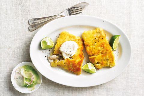 Schnelle Fischgerichte: Panierte Seelachsschnitzel