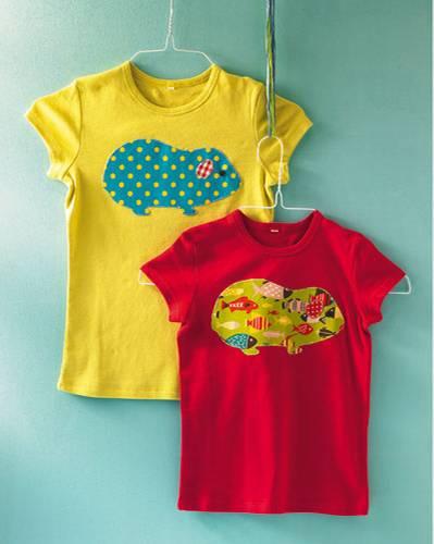 Ideen zum Selbermachen: T-Shirt mit Aufnäher: Individuelles Oberteil ...
