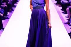 Kleid: Sibilla Pavenstedt Schuhe: Konstantin Starke Turban: Asos Ohrringe: Claire's