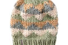 Mütze Zackenmuster