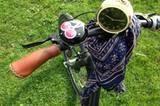 Fahrrad, Tuch, Wecker