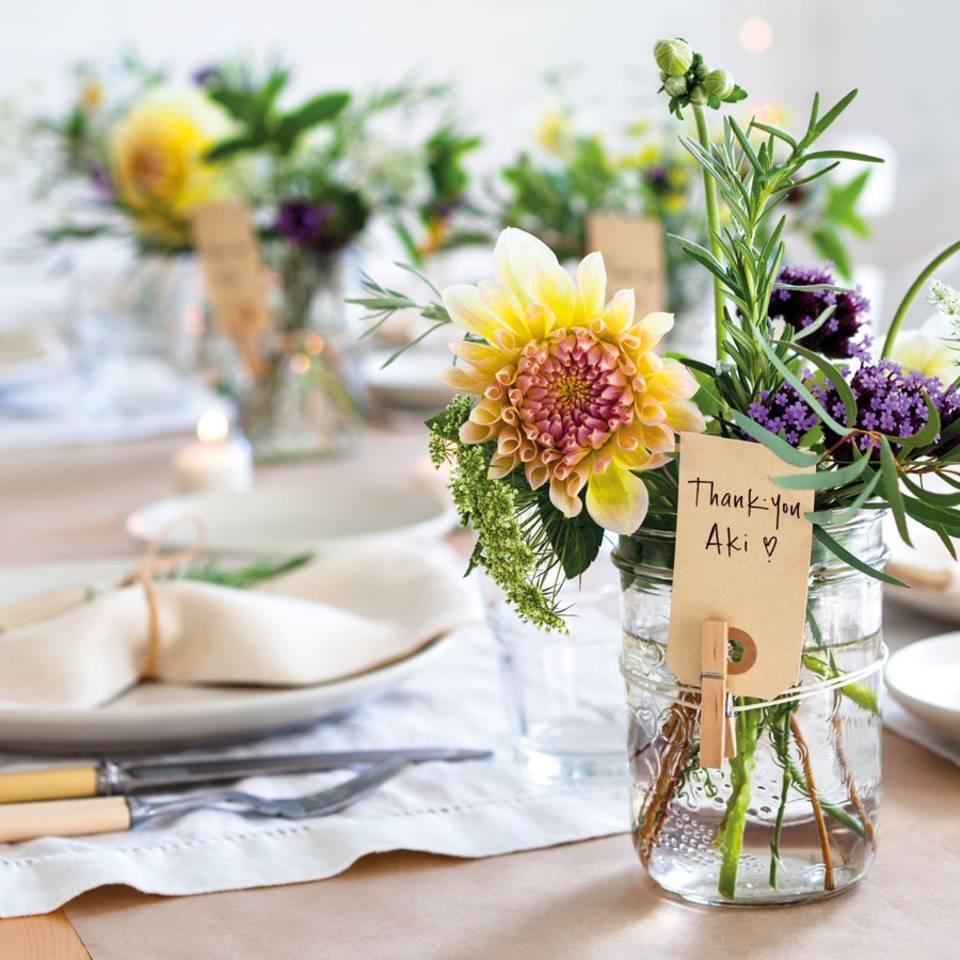 Wohnen mit Blumen: Ein Strauß voller Ideen