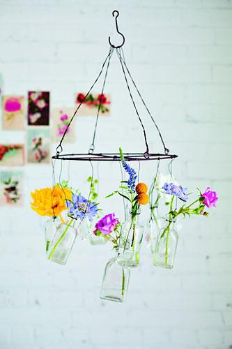 Blumen-Kronleuchter