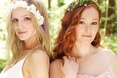 Welche Hochzeitsfrisuren passen zu welchem Brautkleid?