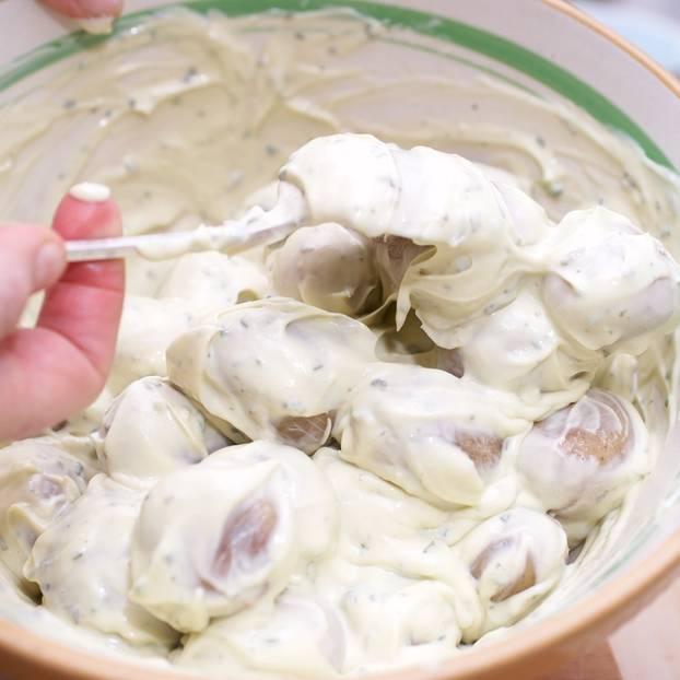 Kartoffelsalat mit Kräuter-Mayo