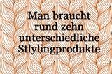 Haare pflegen - stylingprodukte