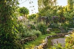Ein Sommergarten wie aus dem Paradies