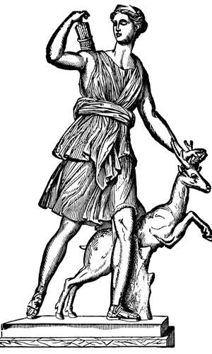 Widder: Diana - Göttin der Jagd