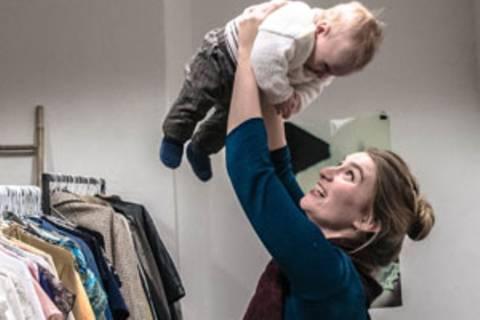MOM besucht: Thekla und Dante