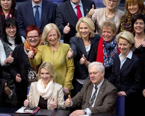 Deutschland: Die Quote für Aufsichtsräte ist da