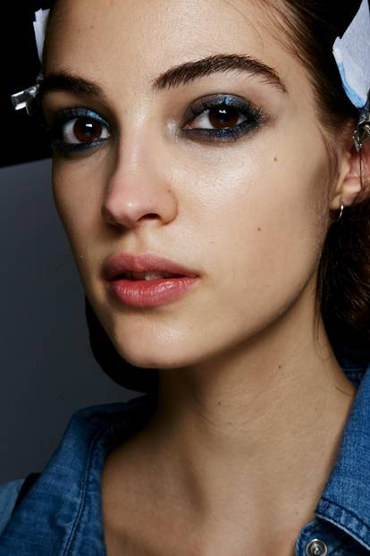 Make-up Trends 2017: Smokey Eyes bei Sonia Rykiel