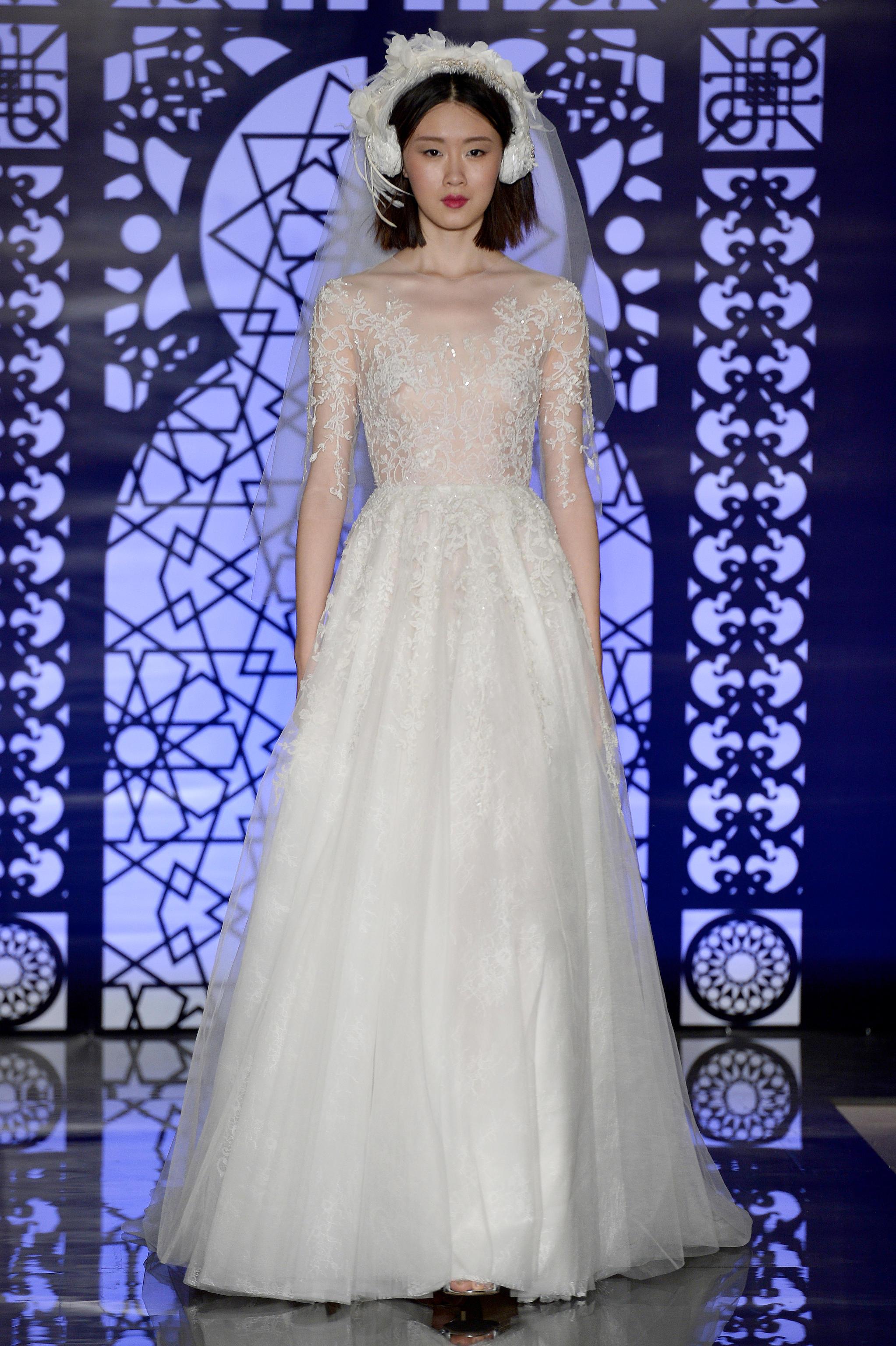 New York Bridal 2016: Das sind die schönsten Brautkleider der Saison ...