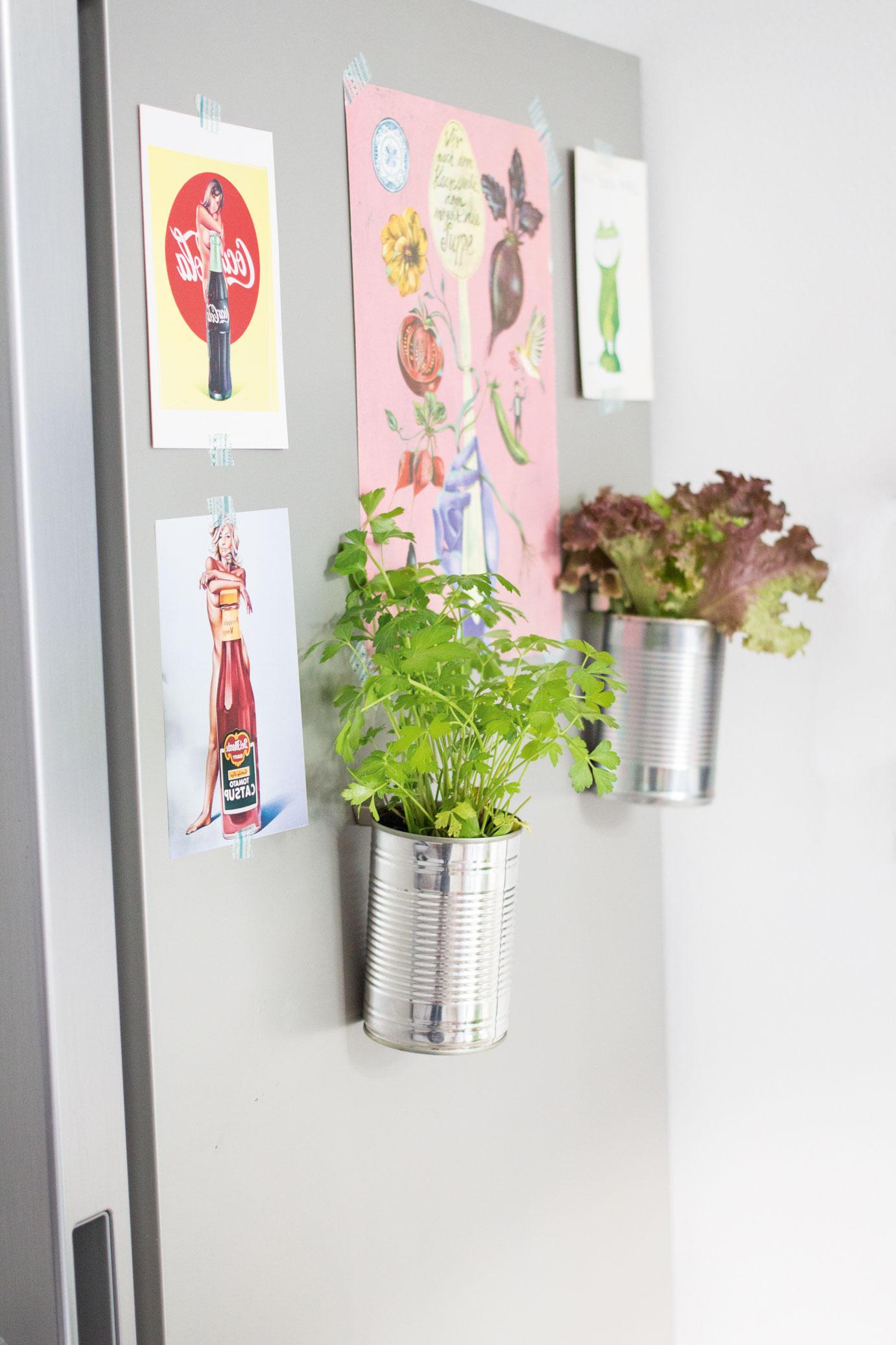 Kühlschrank-Magnet-Töpfe