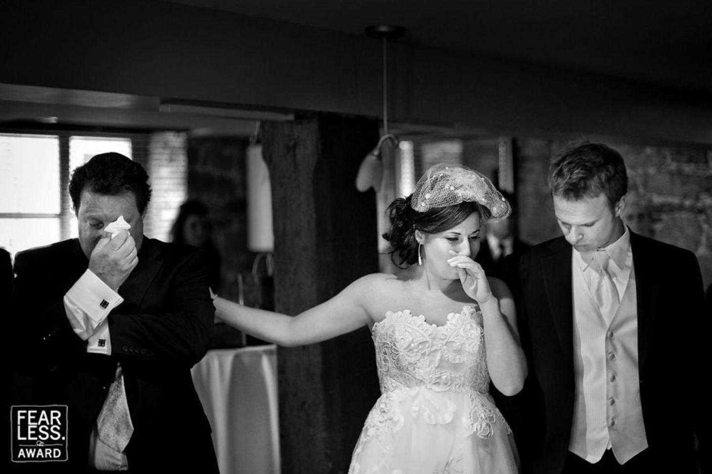Neugierig auf noch mehr Fotos? Bei den Fearless Awards gibt es noch zahlreiche weitere Hochzeits-Highlights zu sehen!