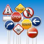 Verstehen Sie die Verkehrsschilder?