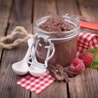Mousse au Chocolat mit Crème fraîche