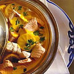 Fischfilet in Curry-Kerbel-Sahne