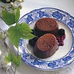 Schokoladen-Makronen-Mousse