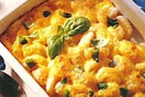 Überbackene Käse-Gnocchi