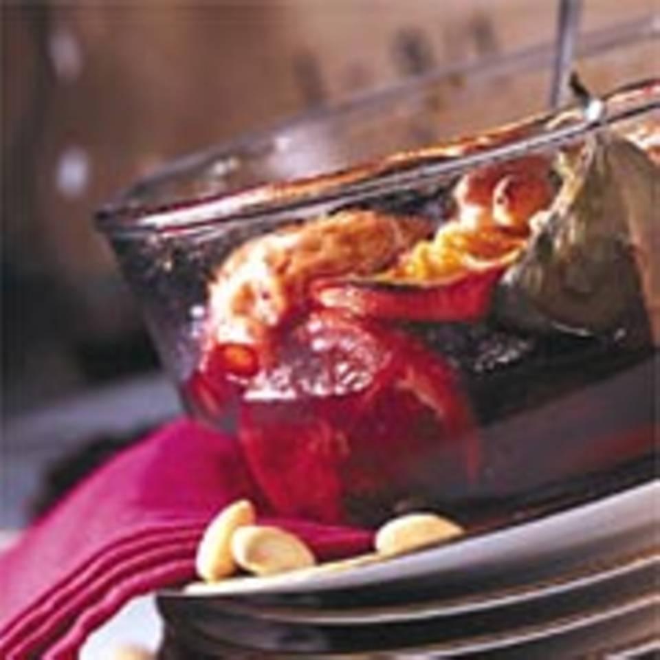 Gebackener Fruchtsalat
