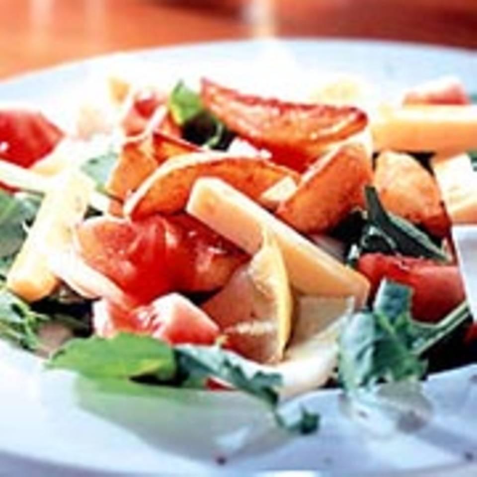 Raukesalat mit Kartoffeln
