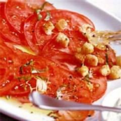 Marinierte Tomaten mit Remoulade