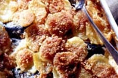 Kartoffel-Auflauf mit Matjes