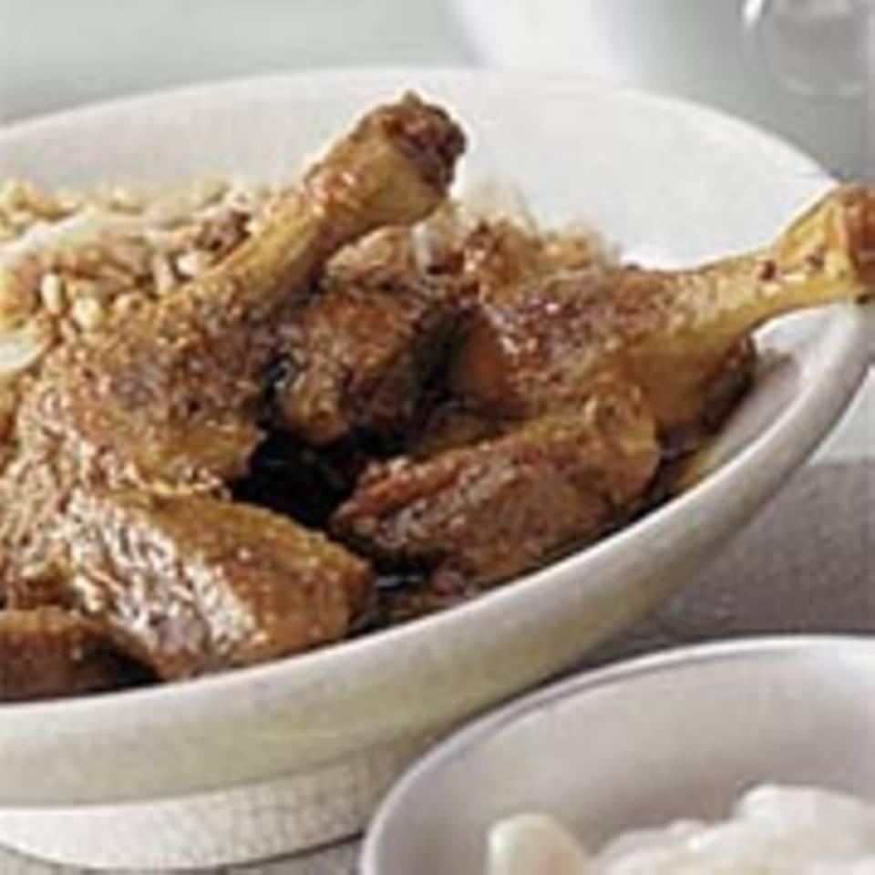 Scharfes Enten-Curry